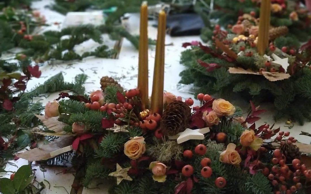 Tallers per guarnir un Nadal atípic